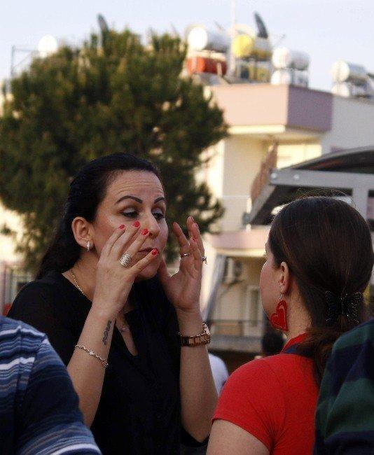 Antalya'da Mikser Kazasında Faciadan Dönüldü