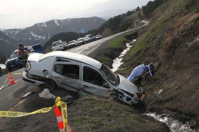 Ardahan'da Feci Kaza: 1 Ölü, 2 Yaralı