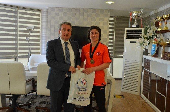 Avrupa Üçüncüsü Judocu Ghsim'deydi