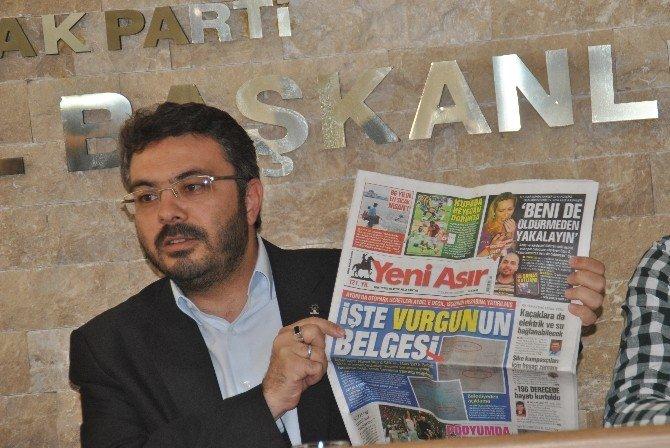 AK Parti İl Başkanı Özmen, Büyükşehir Belediyesinin 2 Yılını Değerledirdi