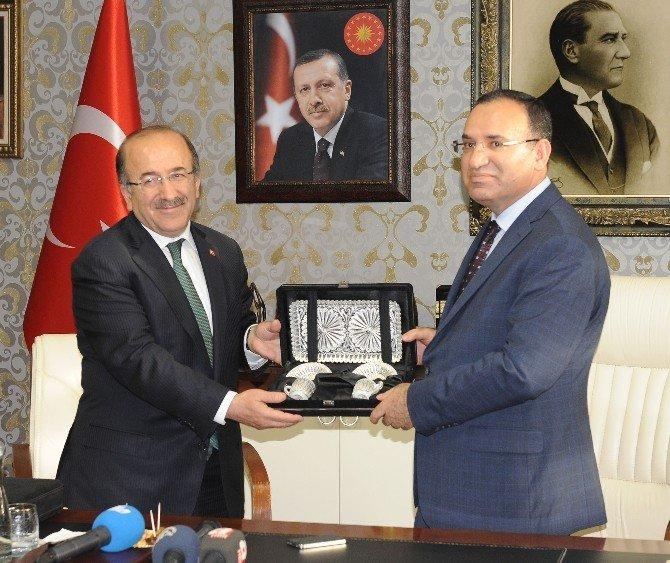 Bakan Bozdağ Trabzon'da