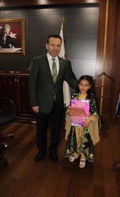 Kürt Kızı Minik Kübra, Beştepe'ye Davet Edildi