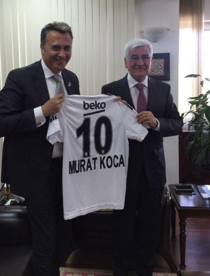 Başkan Orman'dan Karaman Valisi Koca'ya forma