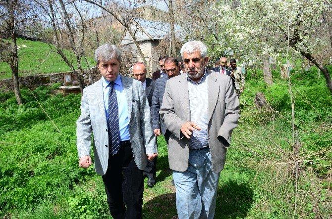 Bitlis Valisi Ahmet Çınar'ın Tarih Gezisi
