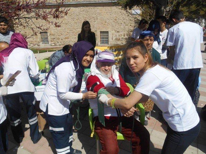 Bolvadin'de Sağlık Taraması