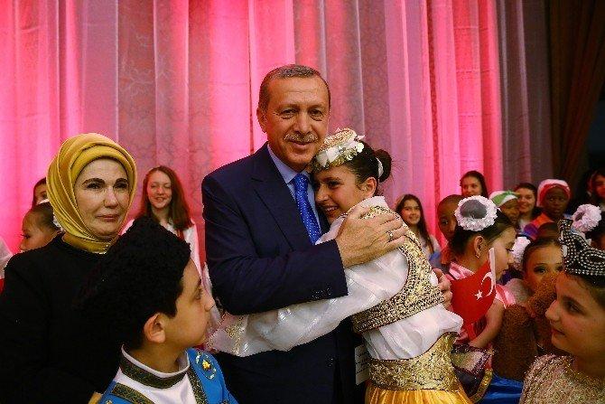 Dünya Çocukları Cumhurbaşkanlığı Külliyesi'nde