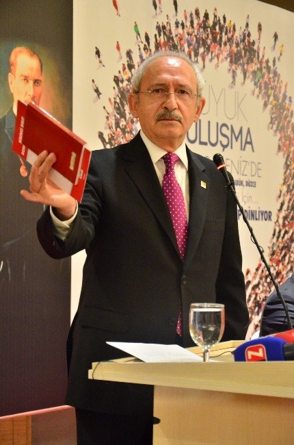 """Kılıçdaroğlu: """"Bu Ülkenin Birinci Sorunu Ahlaktır, İkinci Sorunu Da Adalettir"""""""