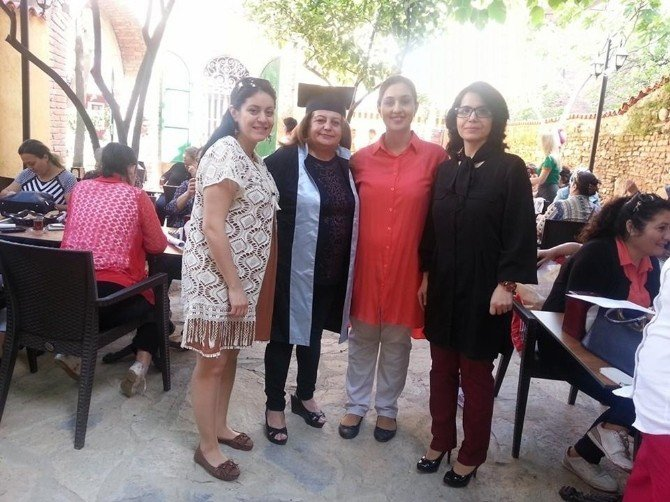 Efeler Belediyesi Hasanefendi Kültür Ve Sanat Evi'nde Sertifika Heyecanı
