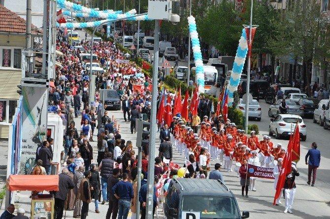 Bozüyük'te 23 Nisan 4. Çocuk Festivali Başladı