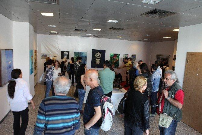 Ahmet Yeşil'in 'Kelebek Etkisi' Sergisi Forum Mersin'de