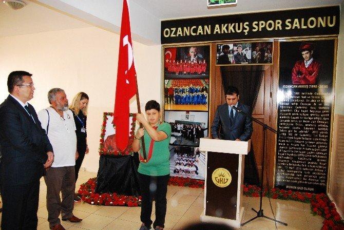 GKV'de Ozancan Akkuş Spor Salonu Hüzünlü Açılış