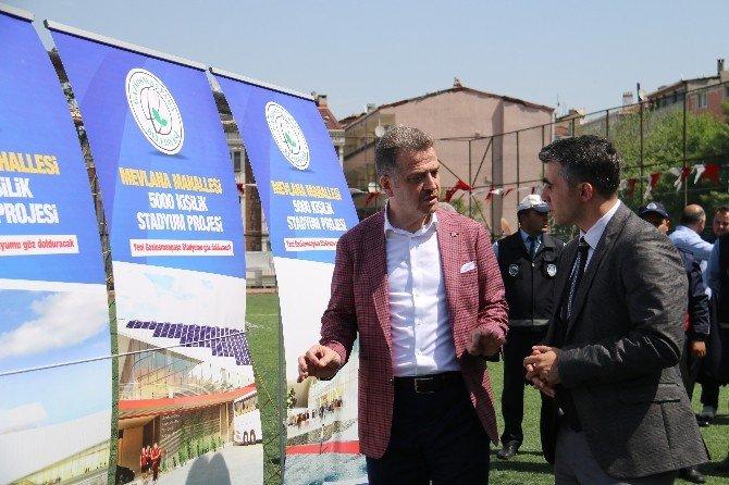 Gaziosmanpaşa Belediye Başkanı Usta'dan Stadın Yerine AVM Yapılacak İddialarına Cevap