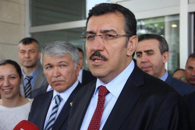 """Gümrük Bakanı Tüfenkci'den """"Patlıcan"""" Açıklaması"""
