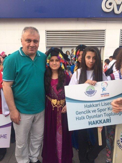 Hakkari Lisesi Gençlik Spor Kulübü İstanbul'da