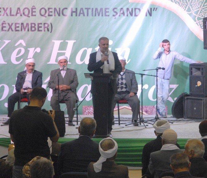 Demokratik İslam Kongresi'nden Kutlu Doğum Haftası Etkinliği