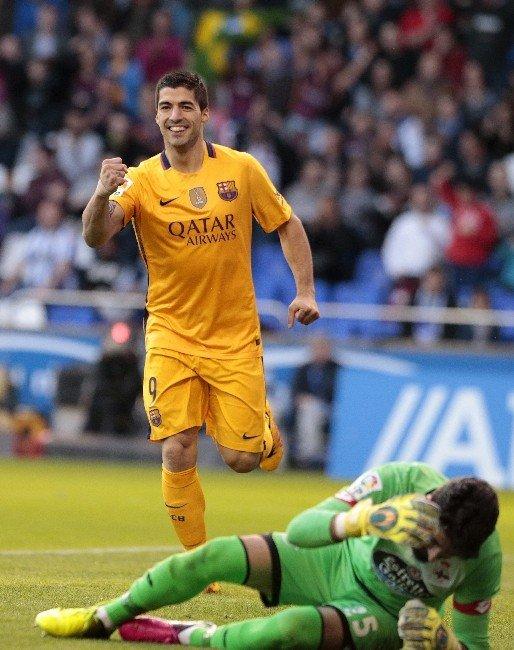 Barcelona, Deportivo'ya Patladı