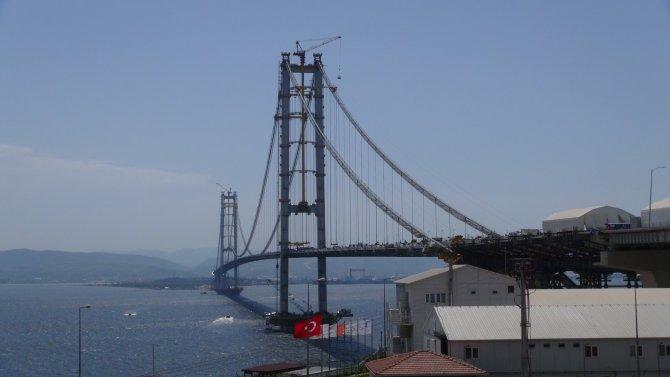 Körfez geçiş köprüsünde sona gelindi