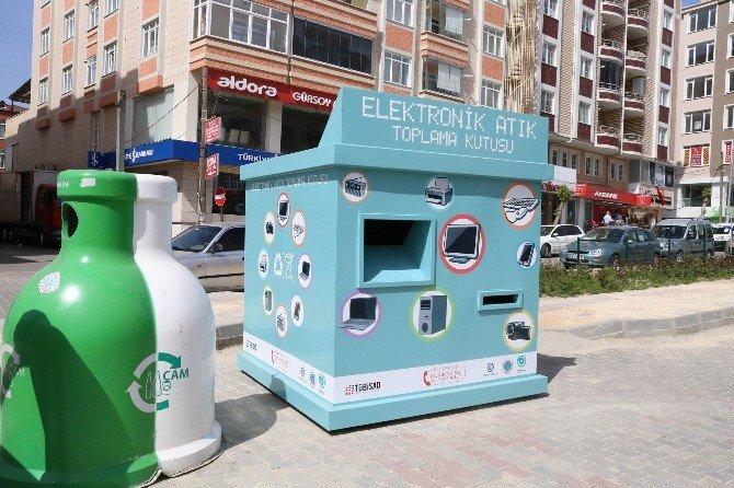Kapaklı'da Elektronik Atıklar Toplanacak