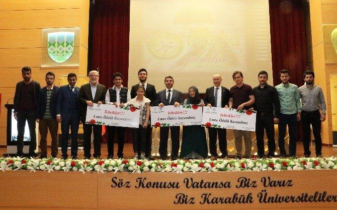 KBÜ'de Umre Ödüllü Bilgi Yarışması