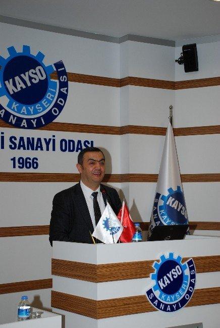 """KAYSO'da """"4. Sanayi Devrimi Endüstri 4.0"""" Paneli"""