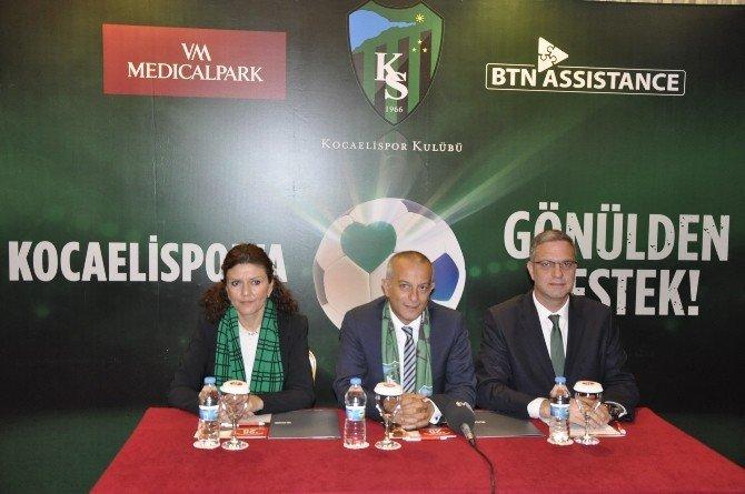 Kocaelisporlulara Özel Sağlık Protokolü İmzalandı