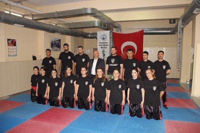 Manisa'da 50 Kişiye Yakın Savunma Antrenörlük Eğitimi