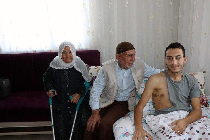 Yozgatlı Gazi Kurban Kesilerek Karşılandı