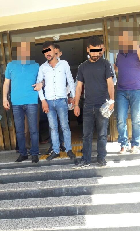 Tarsus'ta uyuşturucu hap operasyonu