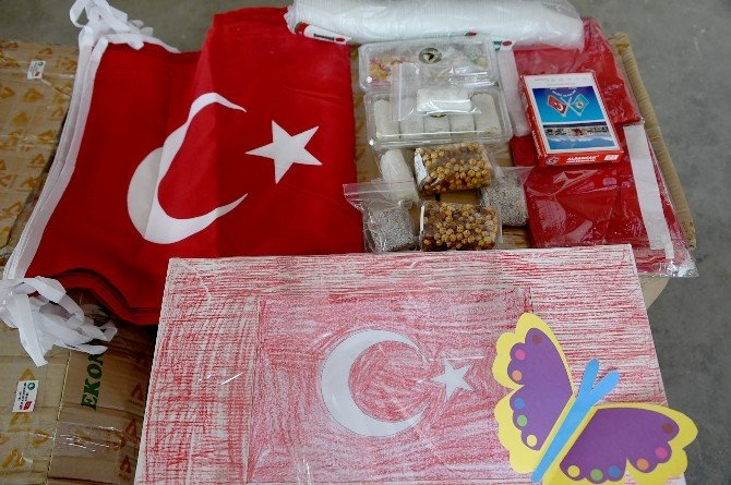 Tarsus'tan Askere Güç Desteği