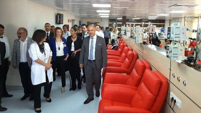 MEÜ'de Ayaktan Kemoterapi Ünitesi Açıldı