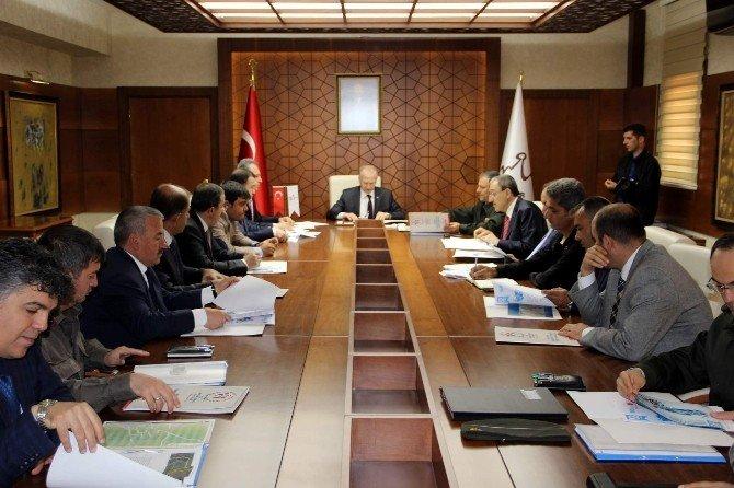 Nevşehir'de 52. Cumhurbaşkanlığı Bisiklet Turu Toplantısı Yapıldı