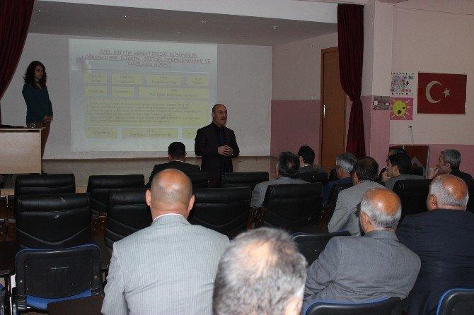 Iğdır'da 'Özel Eğitim Hizmetleri' Semineri