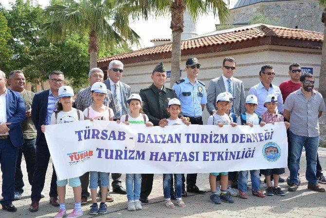 Ortaca'da Öğrencilere Turizm Gezisi