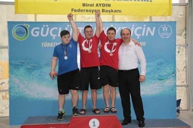 Özel Sporcular Türkiye Yüzme Şampiyonası Sona Erdi