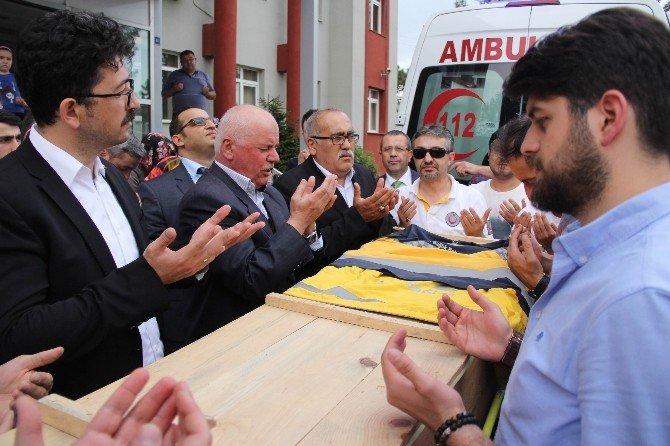 Kazada Hayatını Kaybeden 112 Çalışanı İçin Tören Düzenlendi