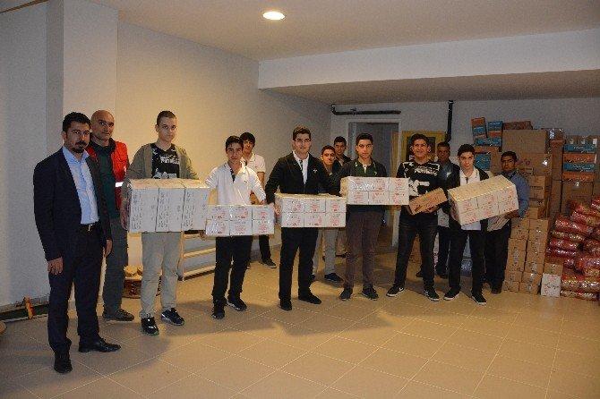 Suriyeli Türkmenler İçin OSB'den Yardım Topladılar.
