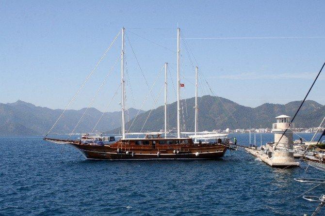 Marmaris'te Mavi Tur Teknelerinin Yüzde 60'ı Satılık