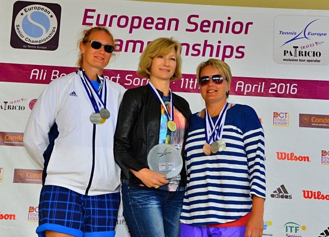 Türkiye, Avrupa Senior Tenis Şampiyonası'nda ikinci oldu
