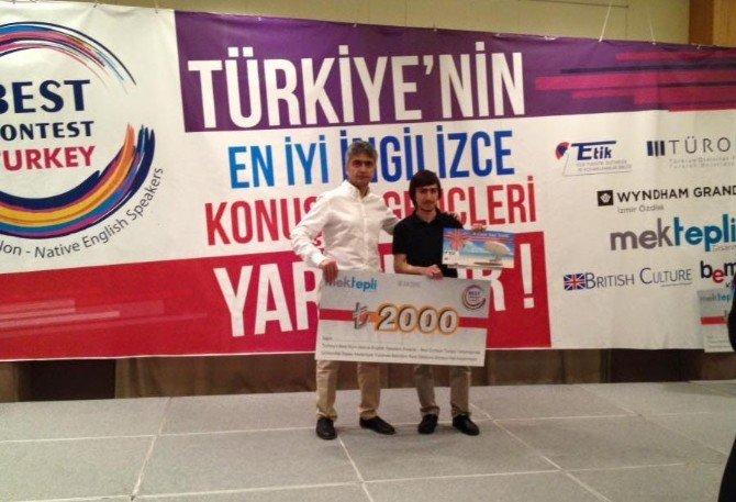 İhlas Koleji Öğrencisi Ahmet Koçak İngilizce'de Türkiye İkincisi Oldu