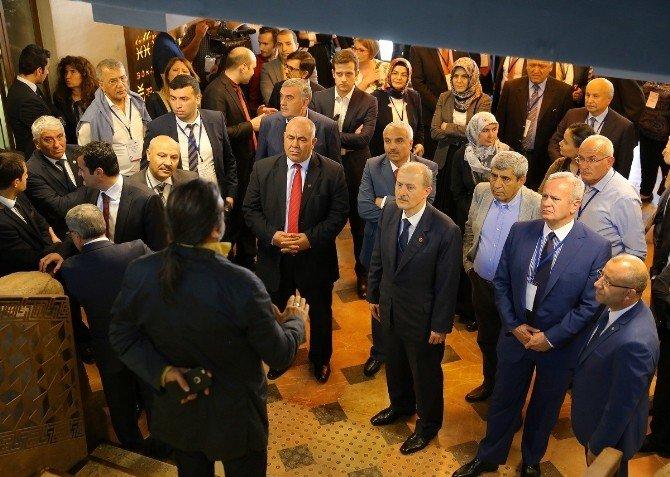 Orta Doğu Ve Asya Belediye Başkanları Gaziantep'e Hayran Kaldılar