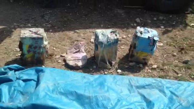 Van'da polislerin geçiş güzergahında 54 kilogram patlayıcı ele geçirildi