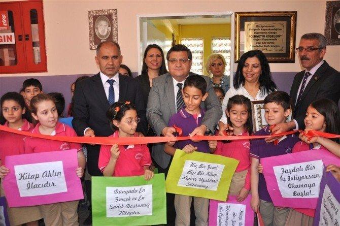 Hayırseverler 300 Bin Lira Verdi, Yenişehir Kaymakamlığı 14. Kütüphaneyi Açtı
