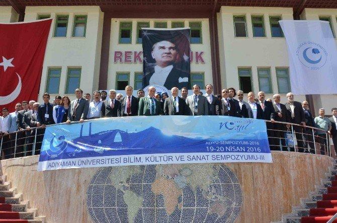 Gaziantep Üniversitesi Rektörü Coşkun, Adıyaman Üniversitesi'nde Konuştu