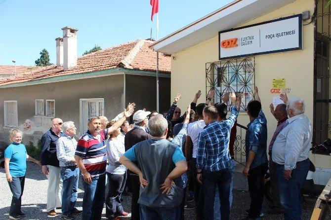 Foça'da Vatandaşları İsyan Ettiren Olay