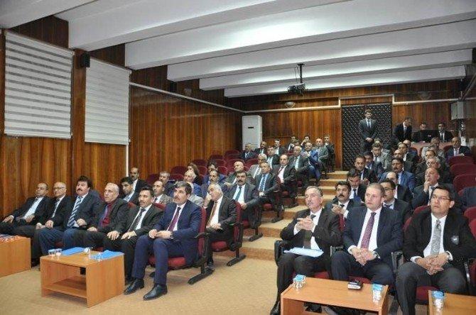 Muş'ta İl Koordinasyon Kurulu Toplantısı