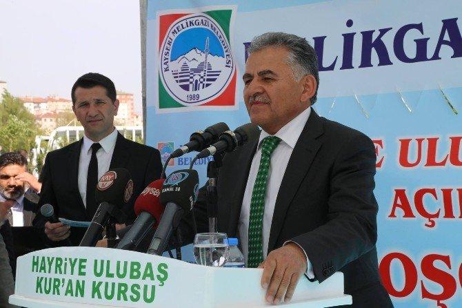 Hayriye Ulubaşkur'an Kursu Binası Hayırlı Olsun!