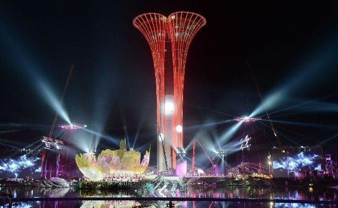 EXPO 2016 Antalya Görsel Şovun Provası Yapıldı