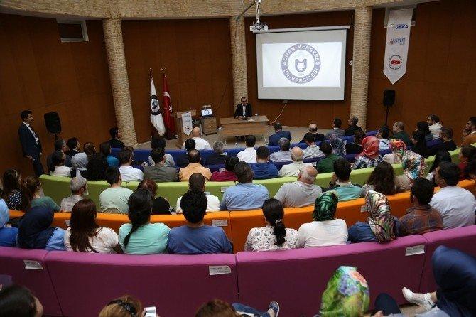 ADÜ Yeni Anayasa Ve Başkanlık Sistemini Konuşulmaya Devam Ediyor