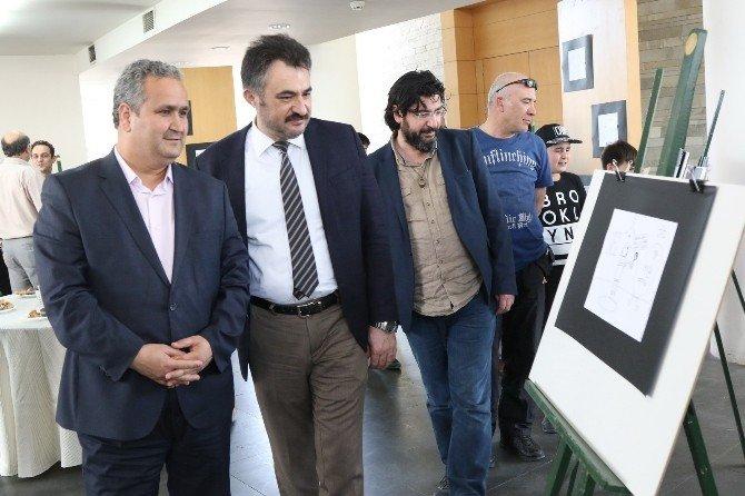 Karikatür Atölyesi 6.yıl Sergisi Açıldı