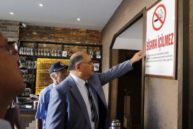 Antalya'da Çapraz Sigara Denetimi